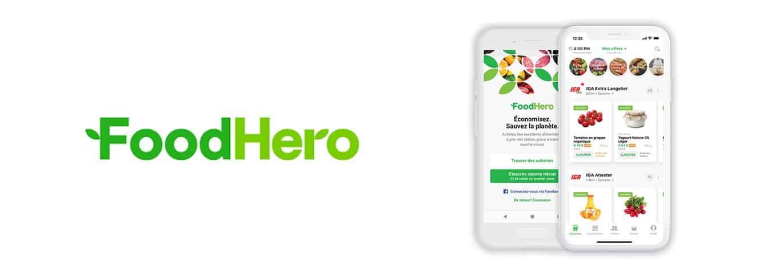 L'application Food Hero permets la réduction du budget d'épicerie