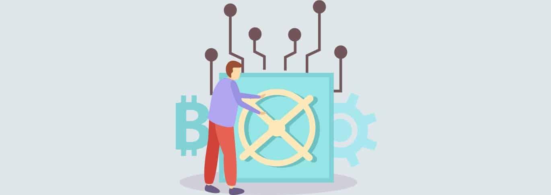 Comment fonctionne le stockage sécurisé des Bitcoins?